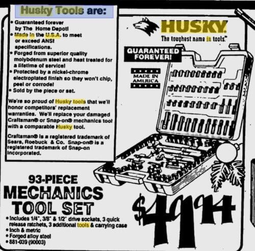 Husky tool newsletter