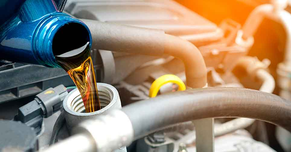 motor oil changing