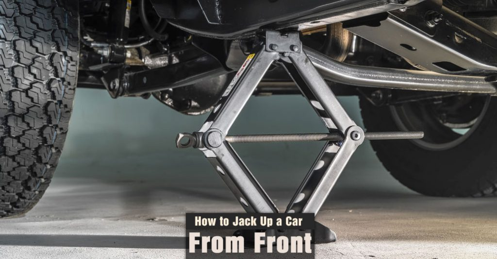 How to Jack Up a Car from The Front