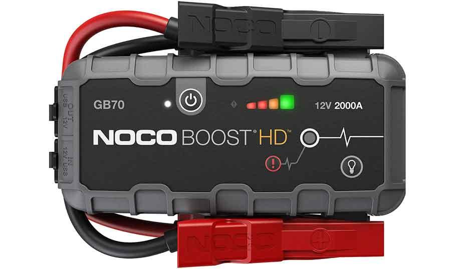NOCO Boost HD GB70 2000 Amp 12-Volt Ultra Safe Portable Lithium Car Battery Jump Starter