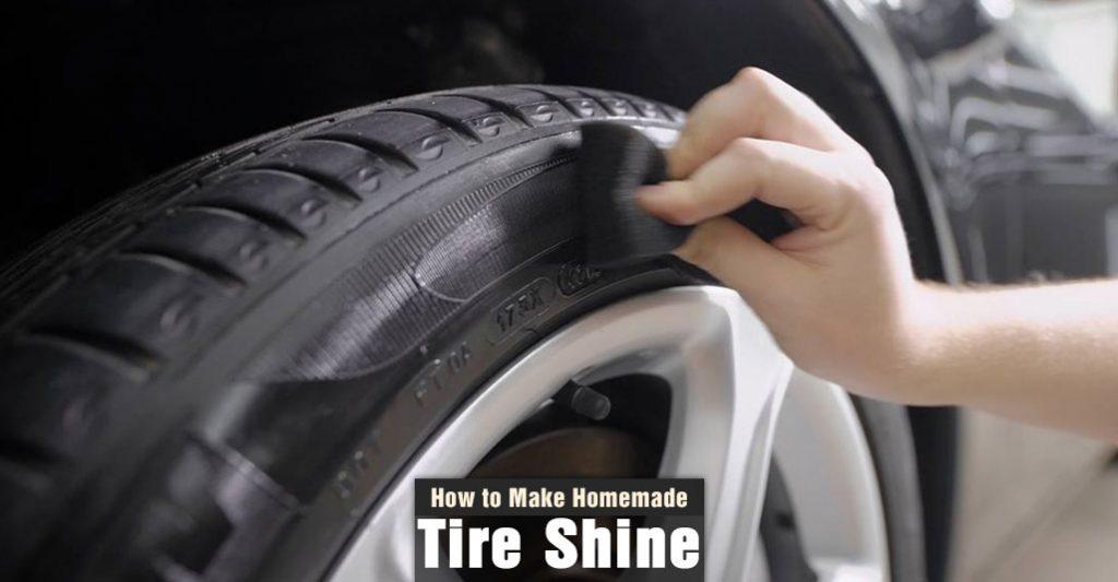 How to Make Homemade Tire Shine
