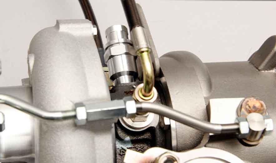 Cooling turbocharger