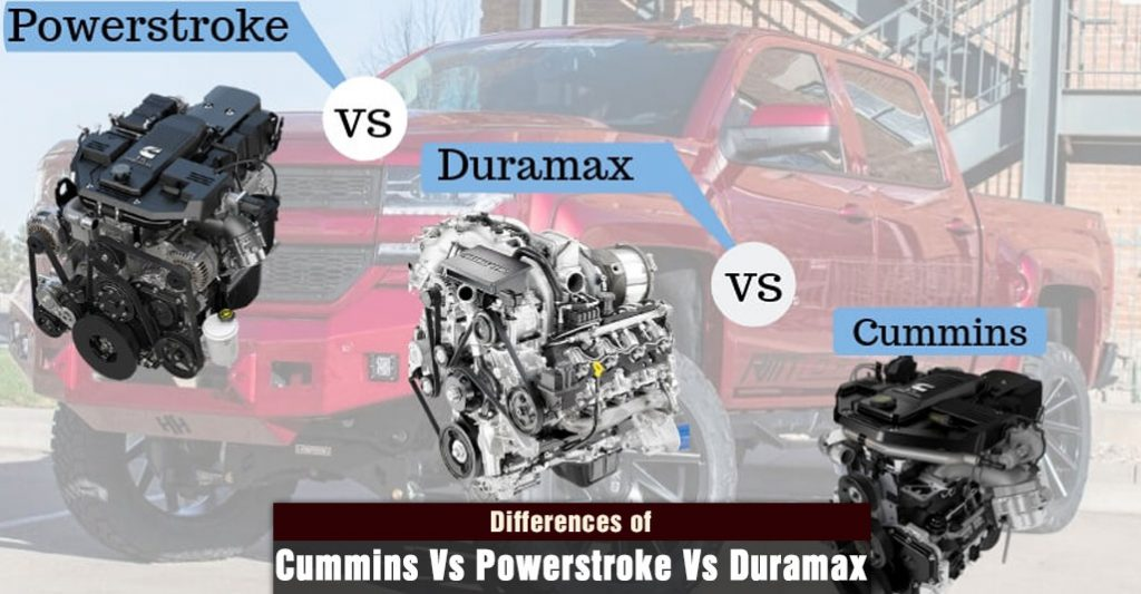 Cummins Vs Powerstroke Vs Duramax