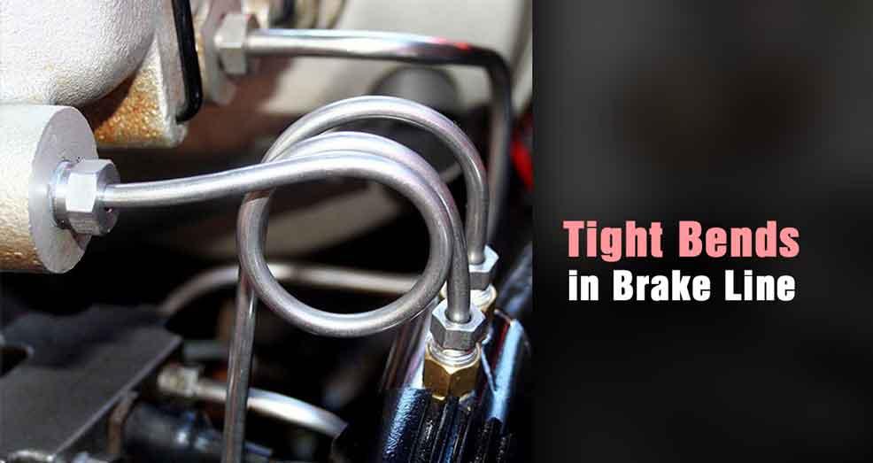 Make Tight Bends in Brake Line
