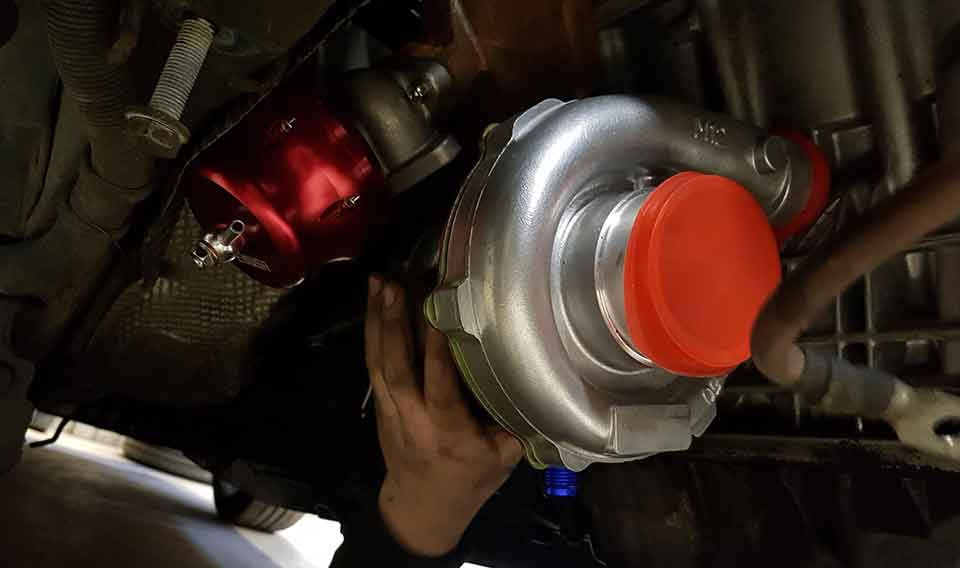 Post turbo Installation Test