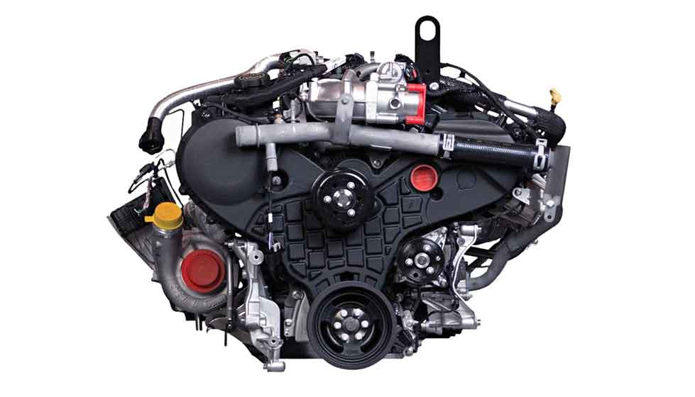 Power Stroke Diesel Engine