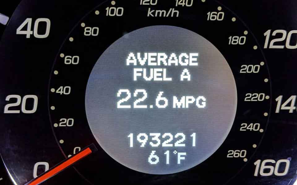 Better Gas Mileage Performance