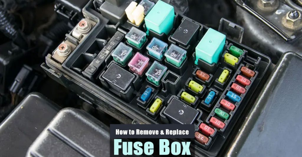 How to Remove Fuse Box Under Hood