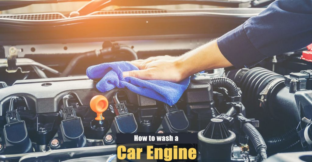 How to Wash a Car Engine at the Carwash