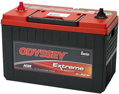 Best Battery for Trailer Winch - Odyssey 31M-PC2150ST-M TROLLING Thunder