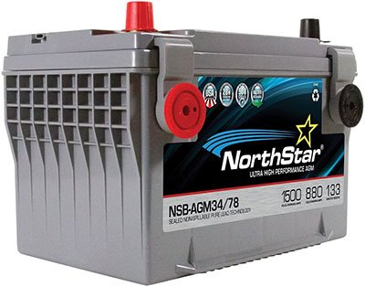 Best Jeep Battery for Winching - NORTHSTAR NSB-AGM34/78