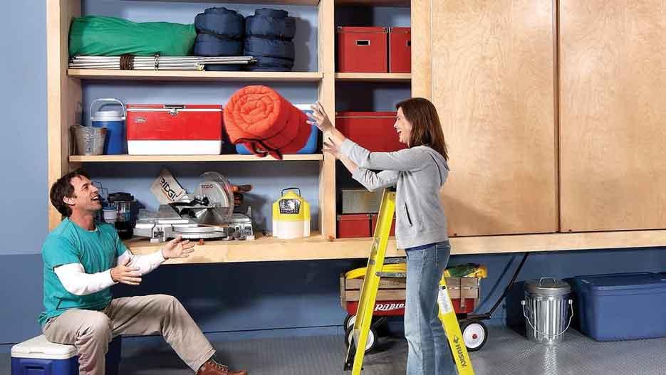 DIY Garage Cabinet Ideas