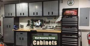 How to Build Wall Mounted Garage Cabinets