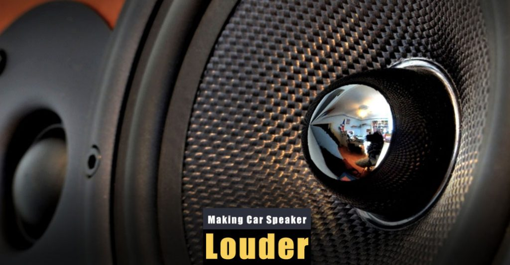 How to Make Car Speakers Louder Without AMP