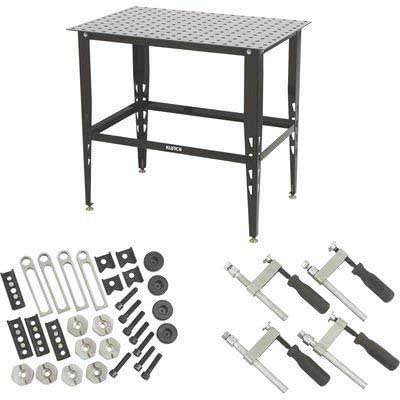 Best in Affordable Price - Klutch Steel Welding Table
