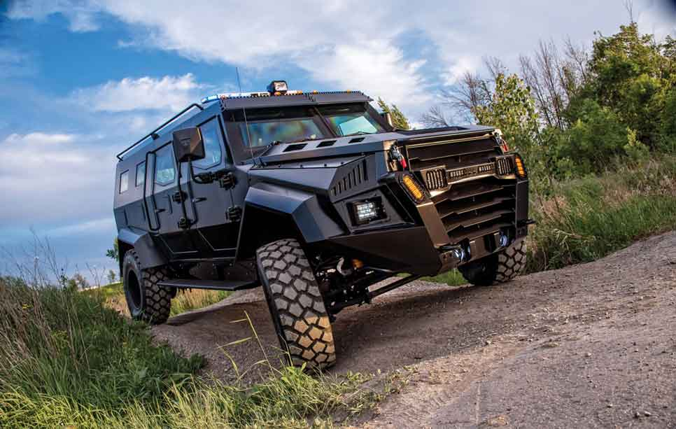 Security for off roading