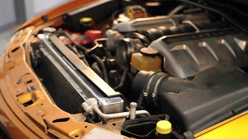 Aluminum Radiator Replace