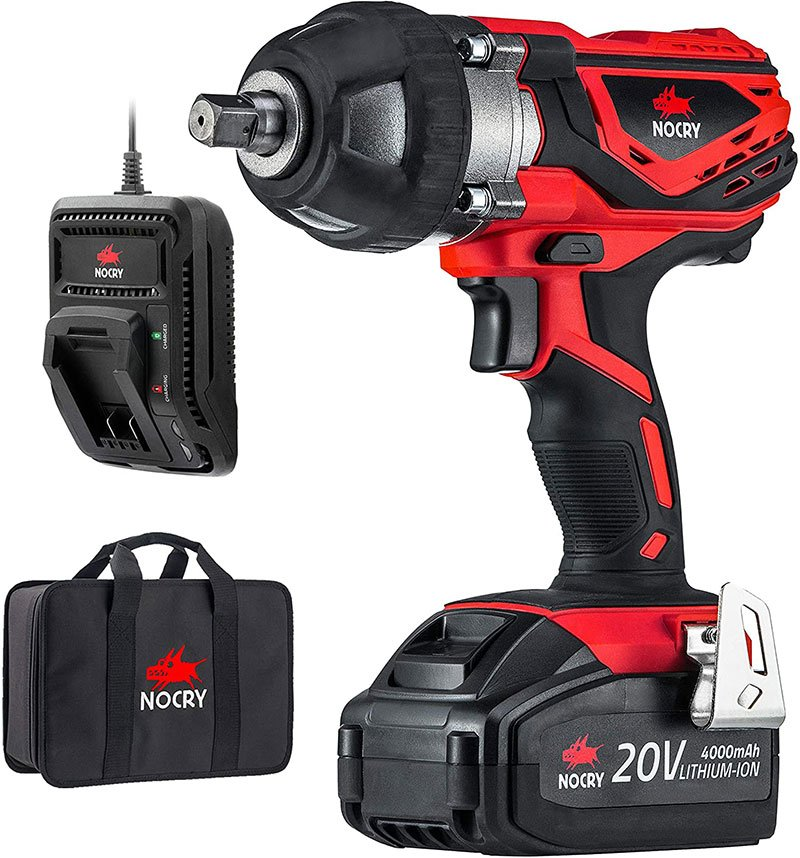 Best Cordless Impact Wrench for Automotive Battery and the charger