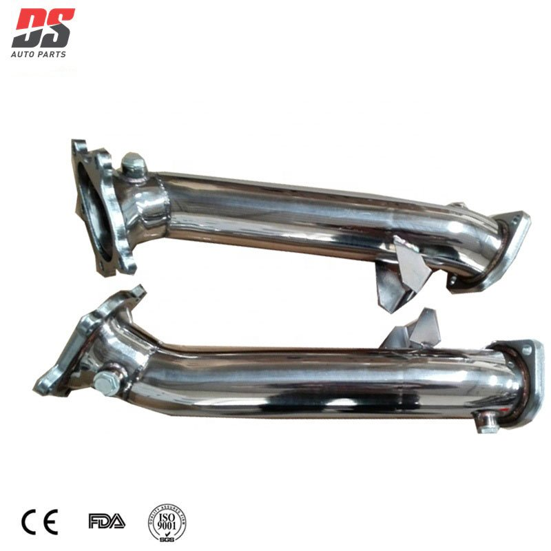 Does your vehicle downpipe size support the muffler?