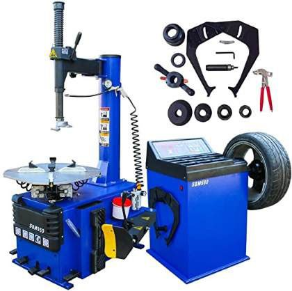 Tire Changer and Balancer Machine Features