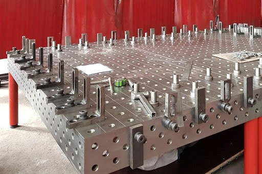 Welding Tables Zinc Plated/Metal Plated Design