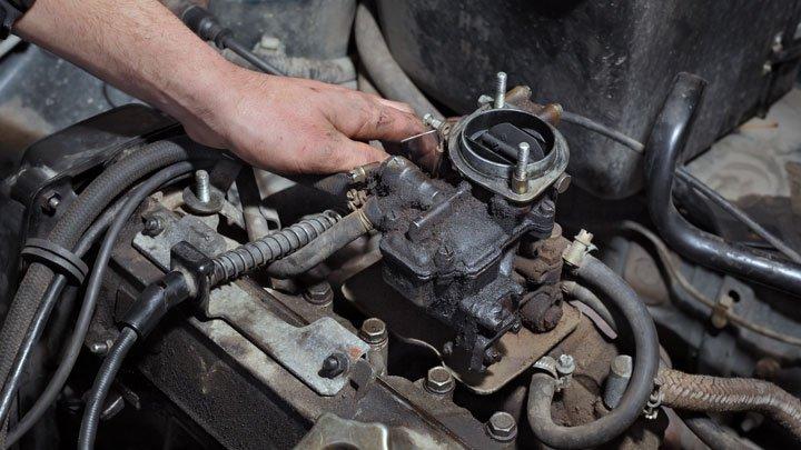 Remove the Carburetor Parts