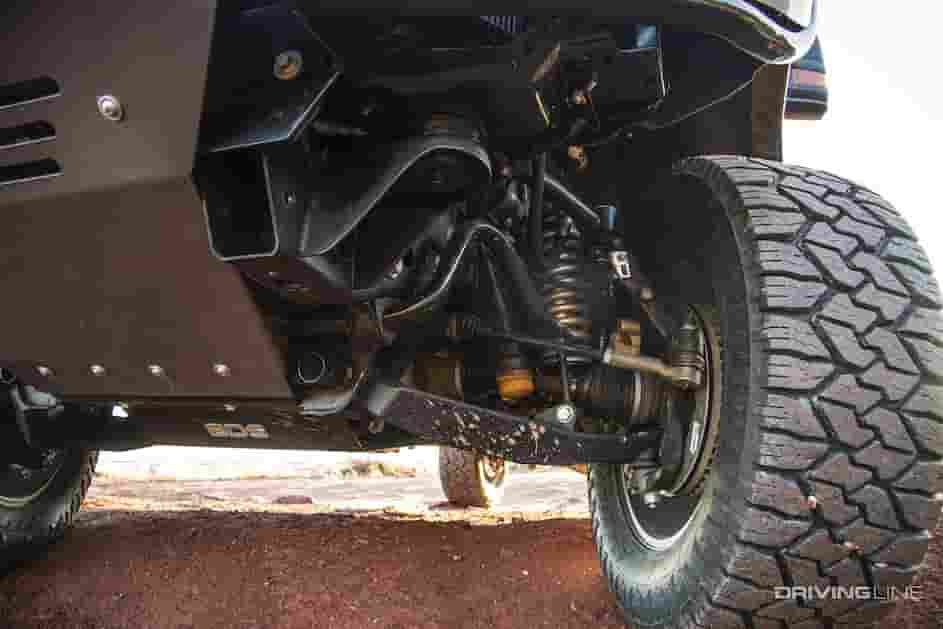suspension system of chevy 2500hd