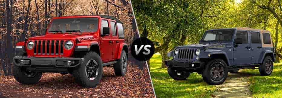 Car Size for Jeep JL, JK and JKU