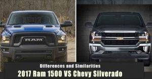2017 Ram 1500 VS Chevy Silverado