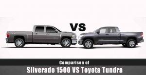 Chevy Silverado 1500 Vs. Toyota Tundra